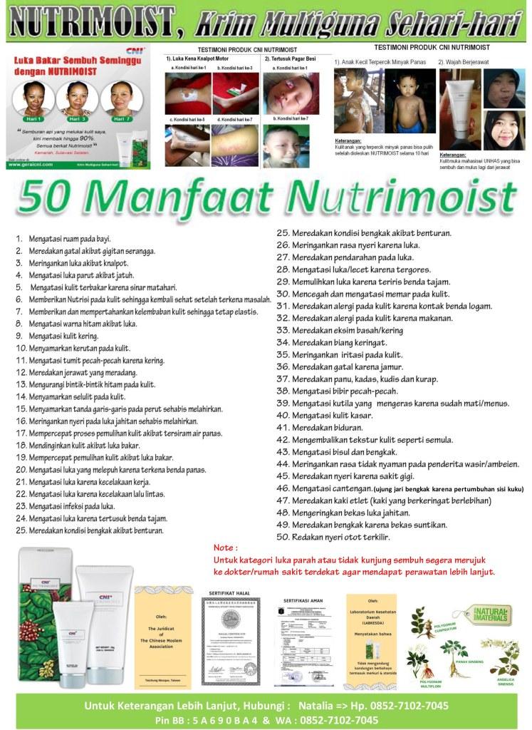 50 Manfaat Nutrimoist